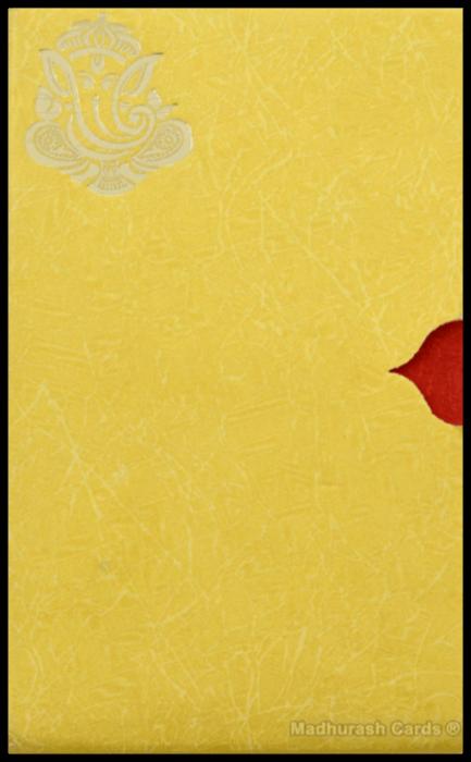 Hindu Wedding Cards - HWC-16222 - 4