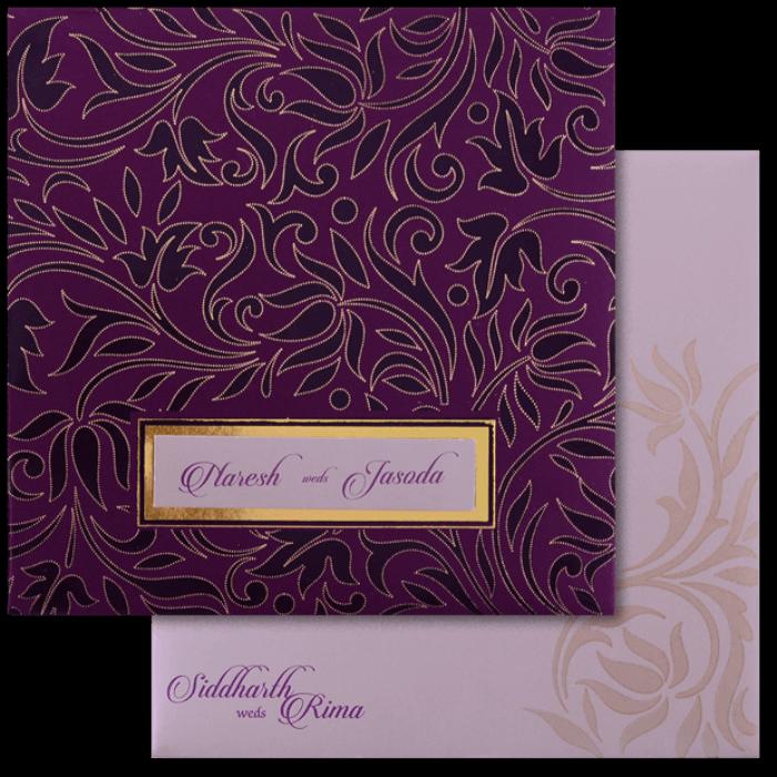Sikh Wedding Cards - SWC-16110