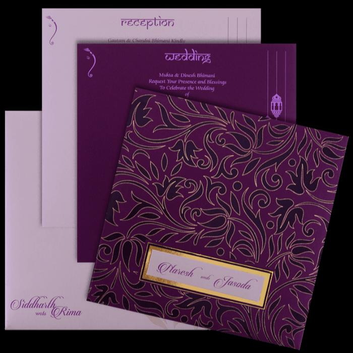 Christian Wedding Cards - CWI-16110 - 5