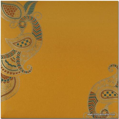 Hindu Wedding Cards - HWC-7525 - 4