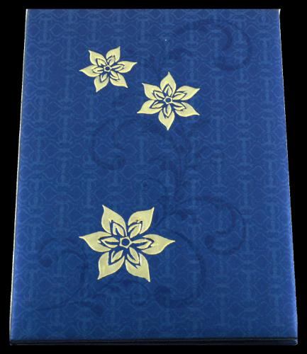 test Hard Bound Wedding Cards - HBC-7056