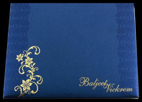 Hard Bound Wedding Cards - HBC-7056 - 5
