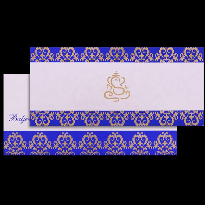 test Custom Wedding Cards - CZC-9061B