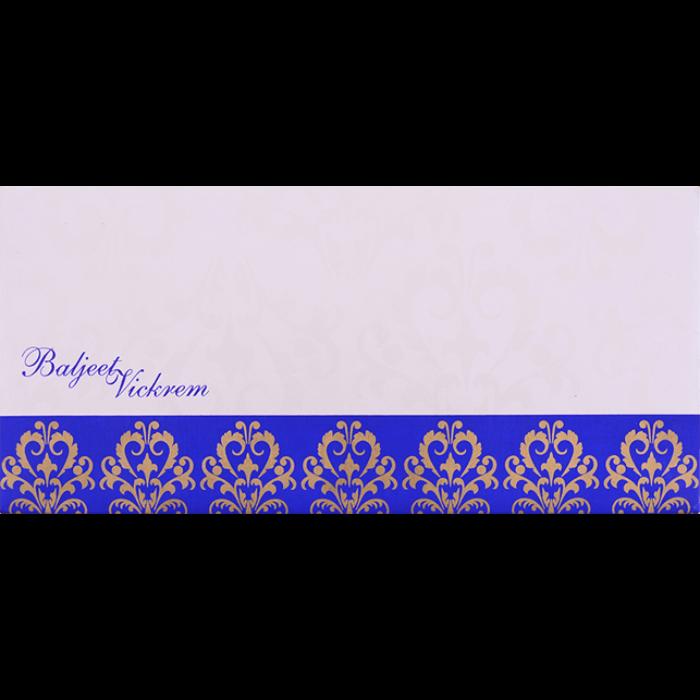 Custom Wedding Cards - CZC-9061B - 3