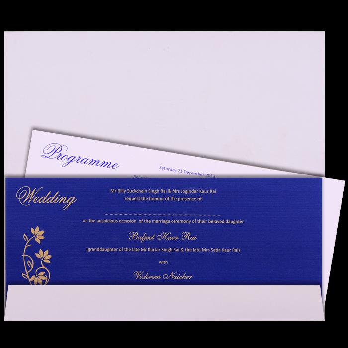 Custom Wedding Cards - CZC-9061B - 5