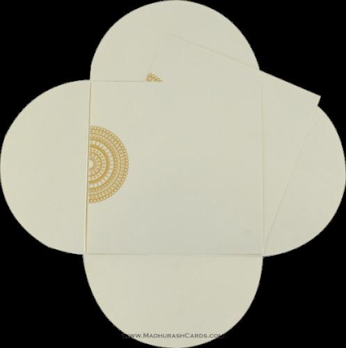 Custom Wedding Cards - CZC-9051CC - 4